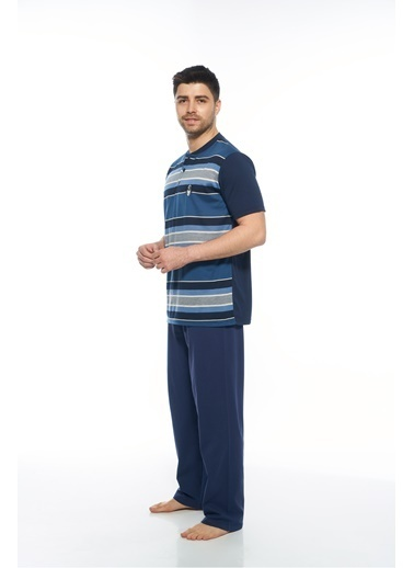 Estiva Pijama Takım İndigo